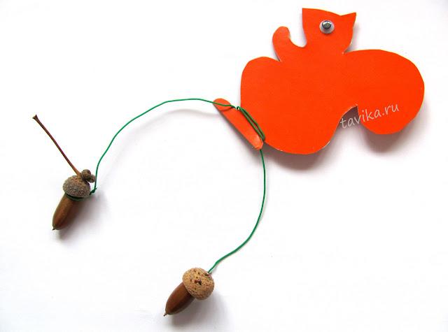 как сделать игрушку-балансир на елку своими руками