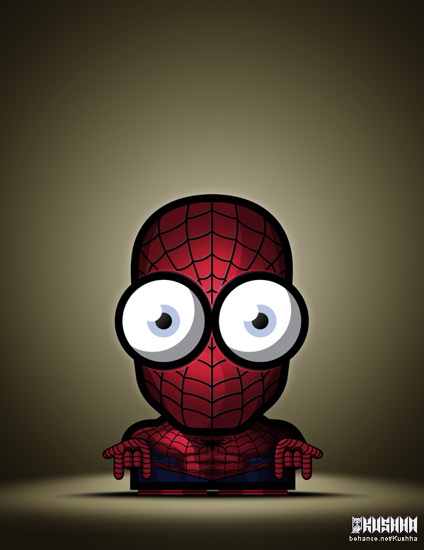 Ahmad Kushha. The Big Eyed Superheroes
