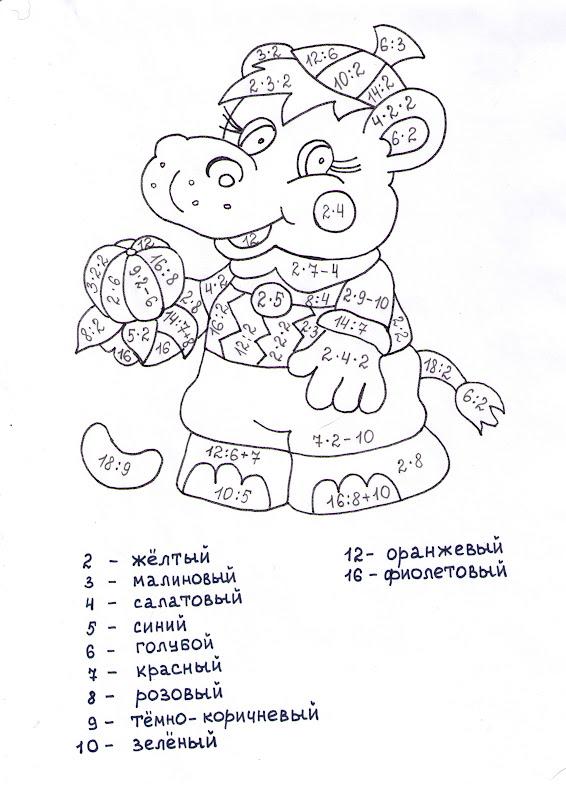 Раскраска колокольчики для детей
