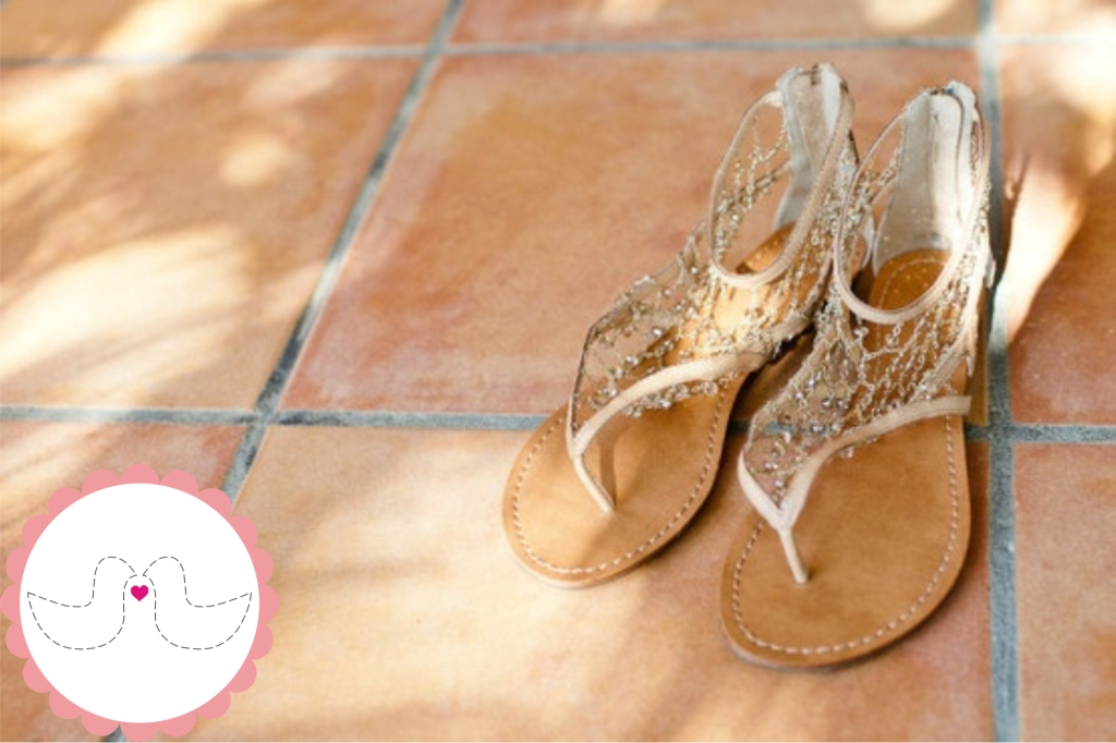 Sapatilhas e Rasteirinhas para Noivas