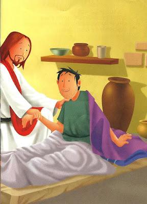 Jesus curou enfermos