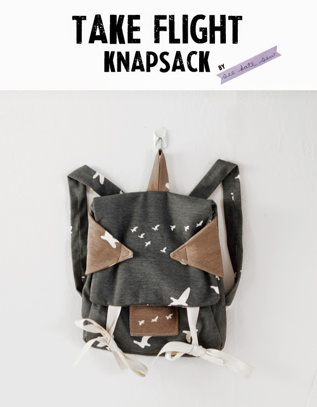 knapsack free sewing pattern