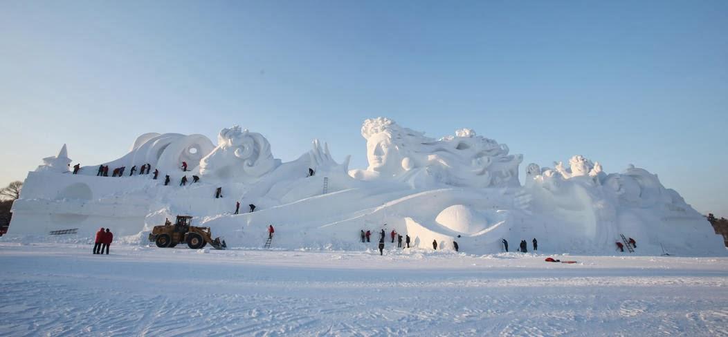 26th China Harbin International Snow Sculpture Art Expo
