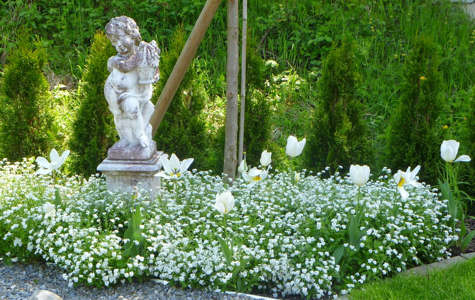 Weißer Garten landidylle weisser garten