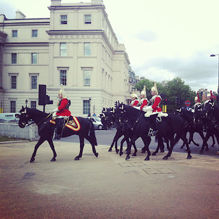 Katie Hilton Graphic Design - Trooping the Colour
