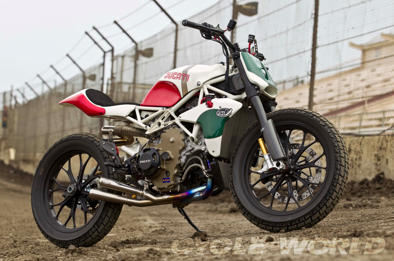 Yamaha Track Bike