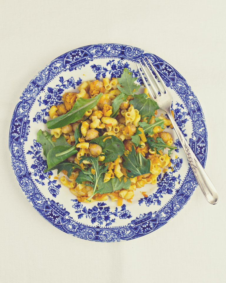 The Letter Box: butternut squash + chickpea pasta [gluten ...