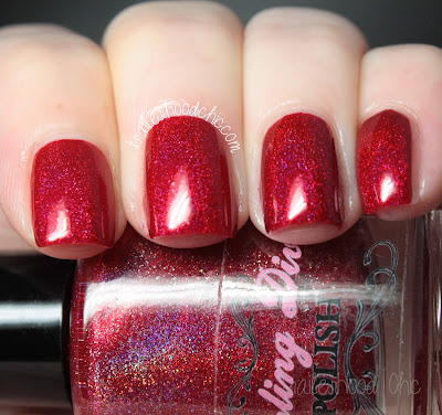 darling diva polish the alchemist swatch