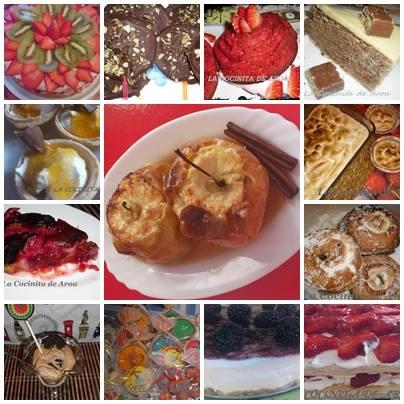 Algunos de mis dulces