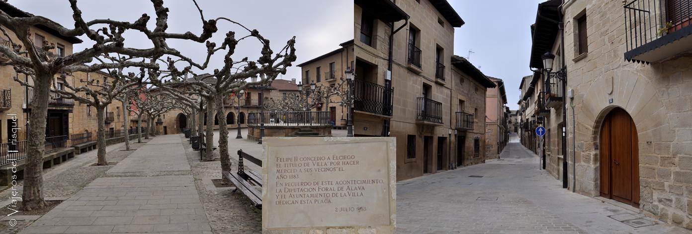 Viajeros del trisquel visita a elciego y a las bodegas for Calle marques de riscal