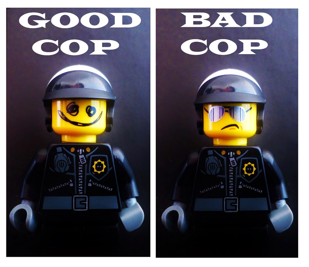 good cop bad cop Lyrics to 'good cop bad cop' by ice cube break em off some / yeah / good cop, good cop, rollin' with that bad cop / what you doing boy, turning that blood.