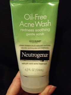 Neutrogena Acne Wash redness soothing gentle scrub