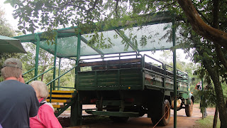 Iguazu Falls – Truck to the Boat Trip Iguazu National Park, Argentina.