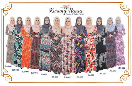 Kurung Rania, Nursing Friendly. Sangat Selesa & Mudah Memakainya