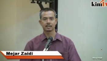 VIDEO Sebagai Seorang islam Mejar Zaidi Tidak Mahu Terlibat Dengan Penipuan