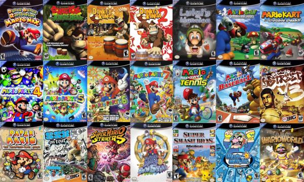 4 player gamecube games list