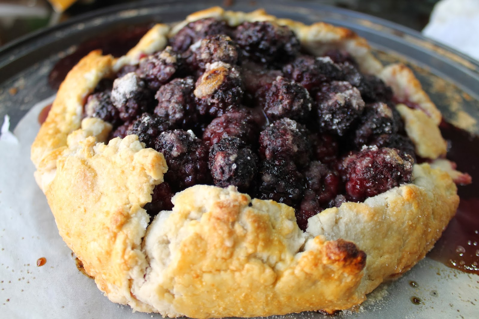 ... Made For Baking: Blackberry Galette With Homemade Whipped Cream Recipe