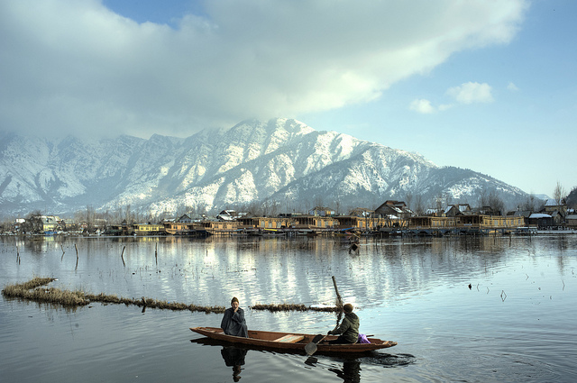 beautiful lake at Kashmir
