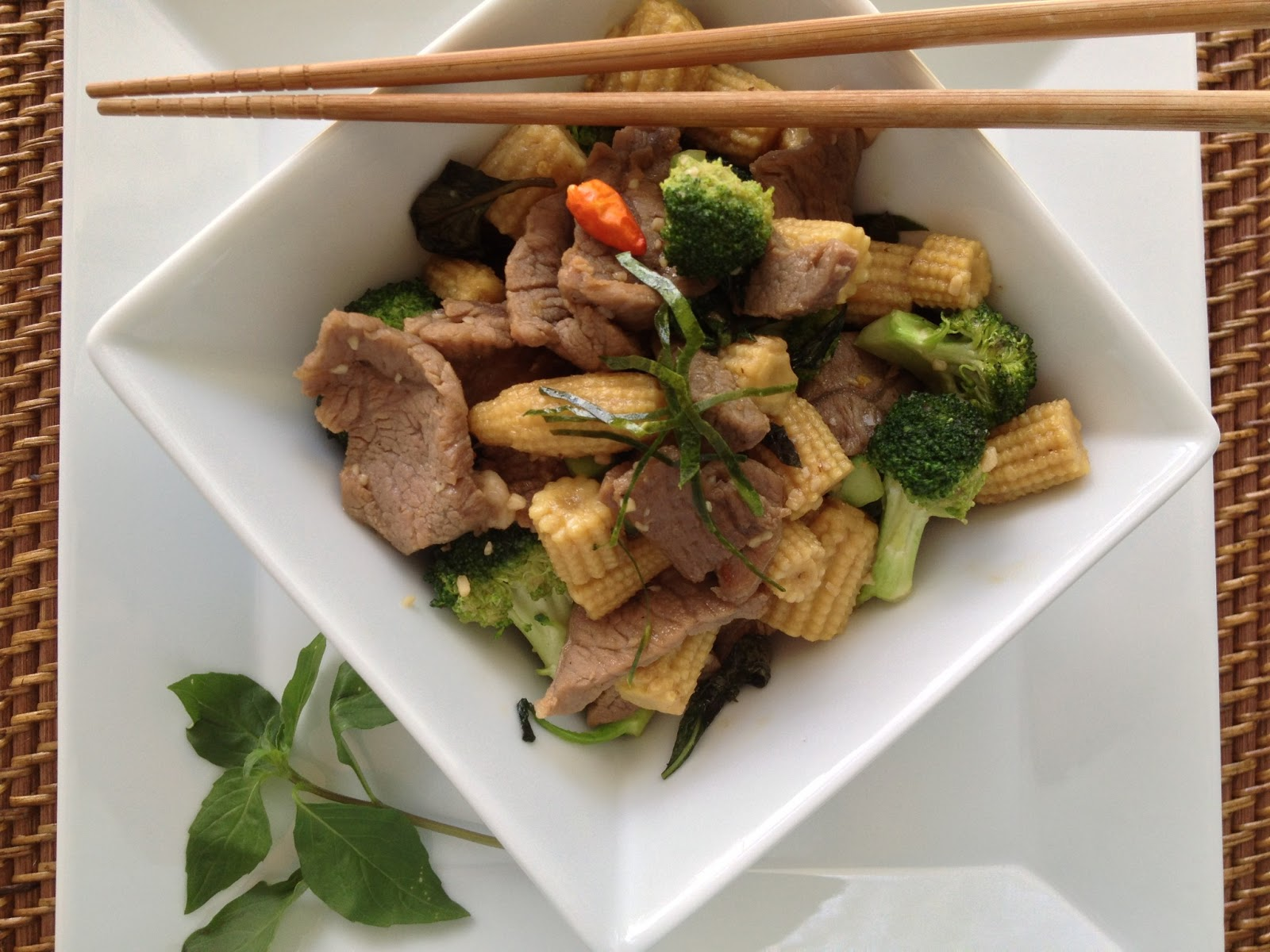 Thai Basil Beef Stir-Fry | Cooking Jar and Happy Accidents