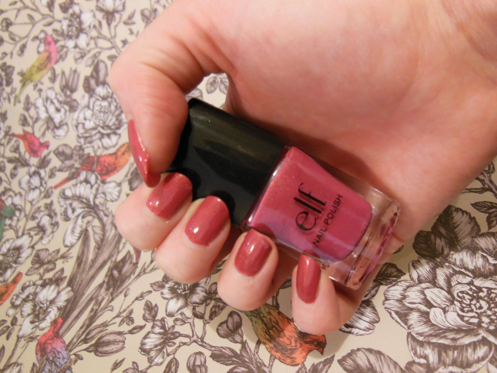 elf valentines challenge nails