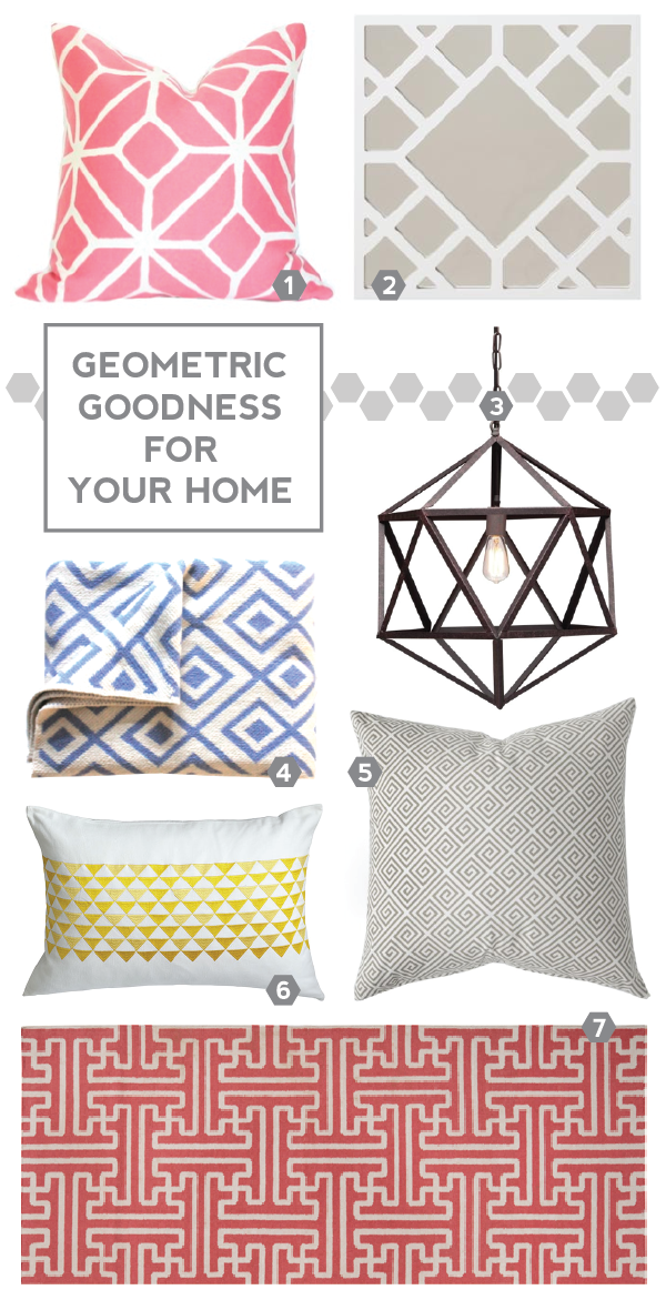 geometric goodness for your home.
