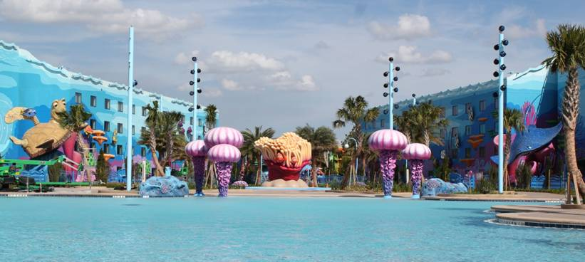 Disney 39 S New Art Of Animation Resort Brings Your Favorite Movie Characters To Life