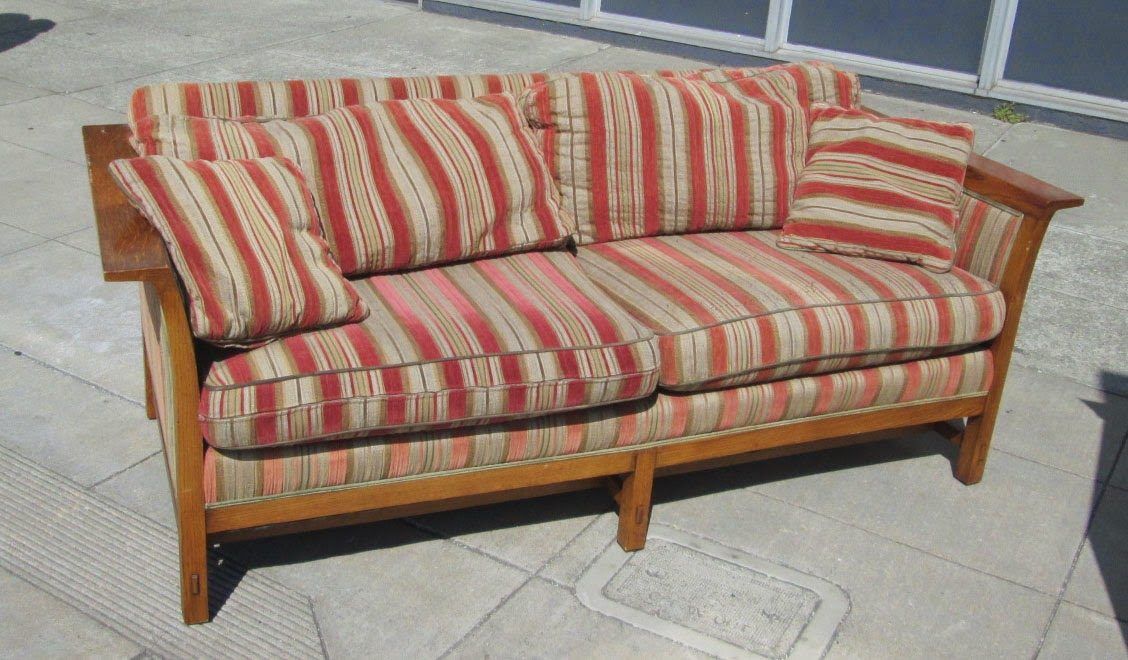 Uhuru Furniture Collectibles Sold Mission Style Sofa 185