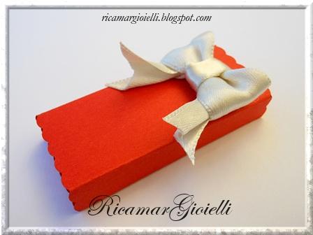 confezione regalo per orecchini