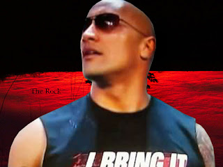 The Rock WWE Wallpaper