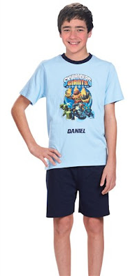 Skylanders Personalised Pyjamas