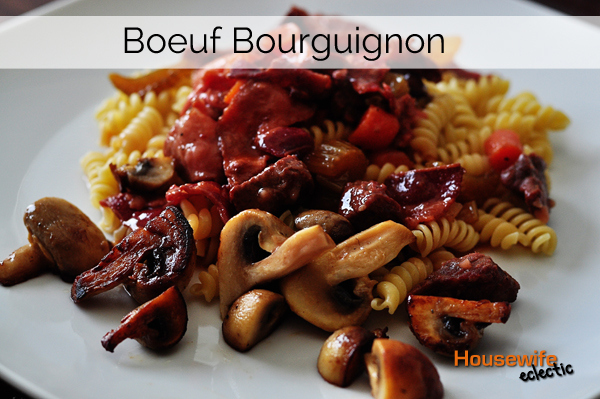 Boeuf Bourguignon Without Wine