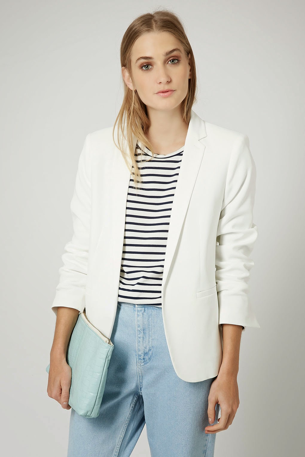 topshop white blazer review, white suit jacket 2015,