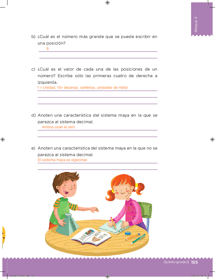 Respuestas ¿En qué se parecen? - Desafíos matemáticos 5to Bloque 5 2014-2015