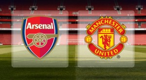 hasil arsenal vs manchester united 2013