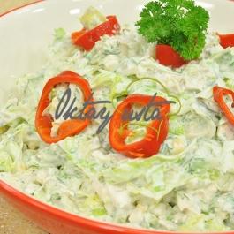 Kerevizli Tavuk Salatası Tarifi