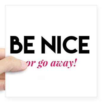 BE NICE (Shirts & Stickers)