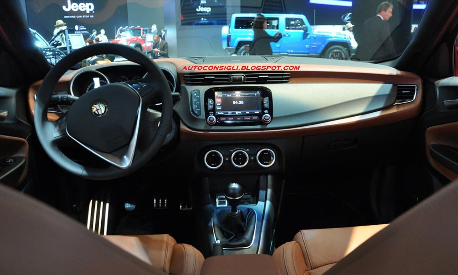 Car al Top: Alfa Romeo Giulietta Restyling 2014: Nuove immagini della