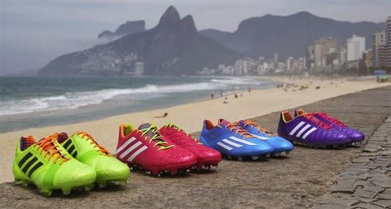 Chuteiras coleção Samba Adidas