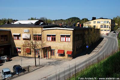 Mark, Marks kommun, Kinnaström, Kinna, gammal industri, fabrik, textilindustri, Viskan