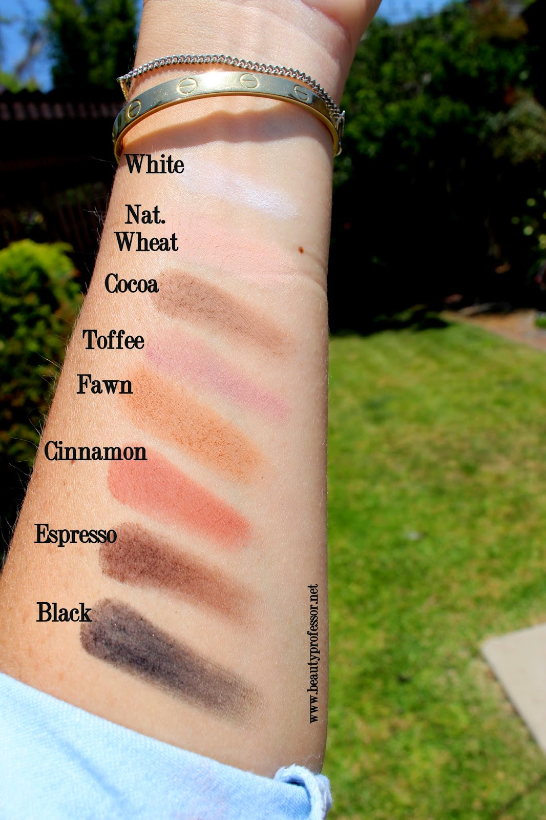 mehron eye power palette 207 swatches