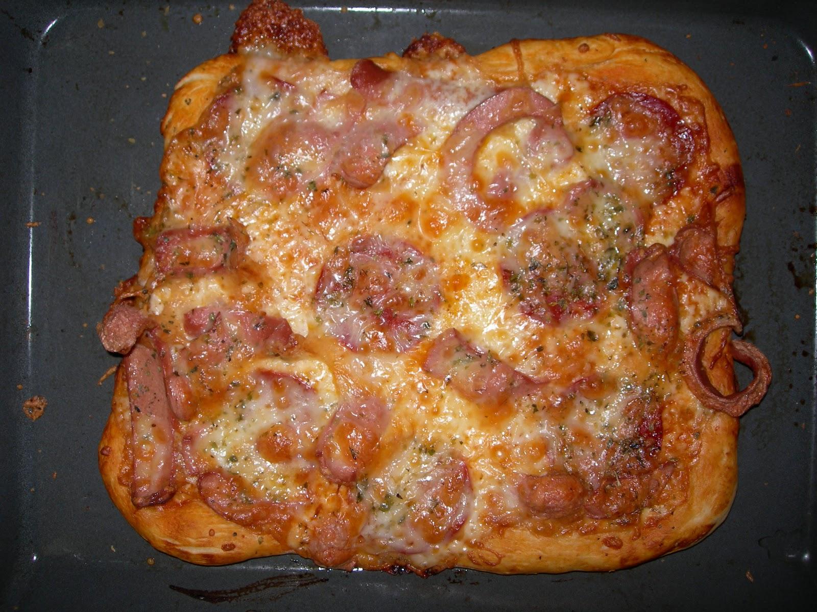 Pizza cocina receta comer