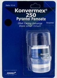 Harga Terbaru Konvermex 2016 untuk Pengobatan Penyakit Cacing