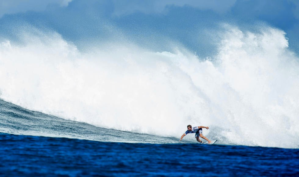 5 Vans World Cup of Sufing 2014 Davey Cathels Foto ASP