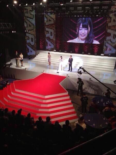 上原亜衣第一名 DMMアダルトアワード2014頒獎