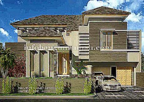 Gambar Desain Rumah Minimalis Modern 2 Lantai  Desain dan Tips