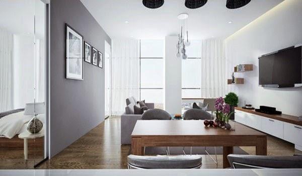 Thiết kế nội thất phòng khách đẹp hiện đại tinh tế