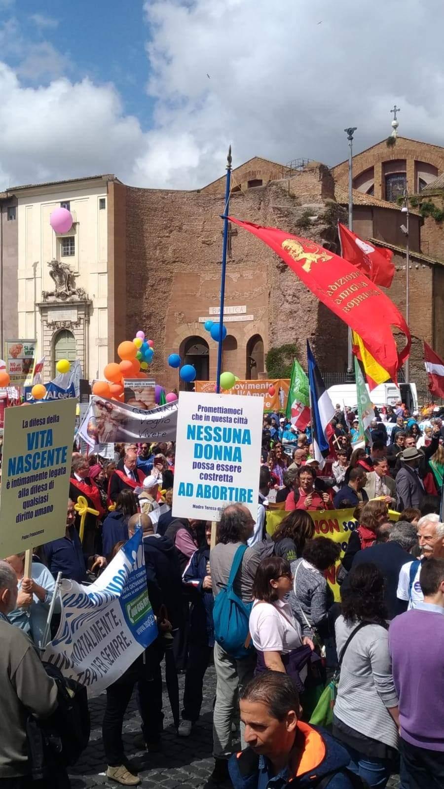 Marcha pela Vida - Roma 18/5/2019