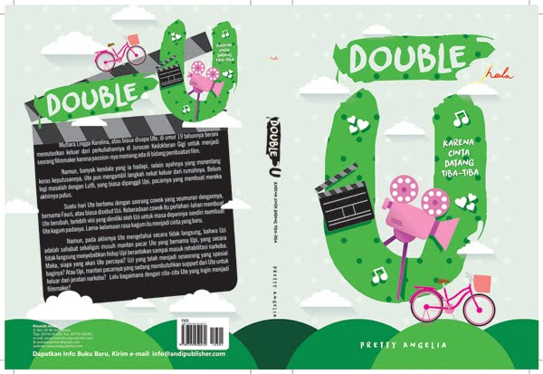 NOVEL KETIGA DOUBLE U PUBLISHED BY PENERBIT ANDI