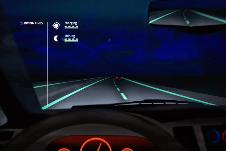glow in the dark highway, lebuhraya_dalam_gelap,hantu_lebuhraya
