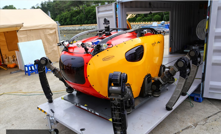 128 ROBOT CRABSTER KOREA INGIN SERTAI MISI MENCARI MH370 DI LAUTAN HINDI